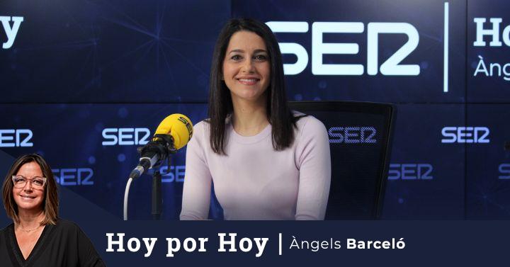 Arrimadas defiende para Madrid un gobierno de PP y Cs y pide a Ayuso que aclare si quiere sustituirles por Vox