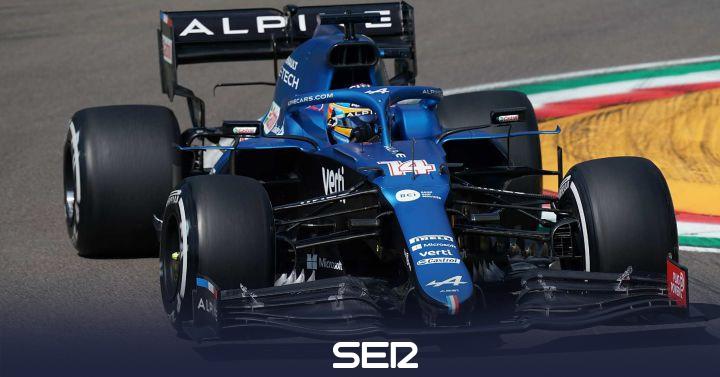 Un accidente de Leclerc 'esconde' el rendimiento real del Ferrari de Sainz y el Alpine de Fernando Alonso