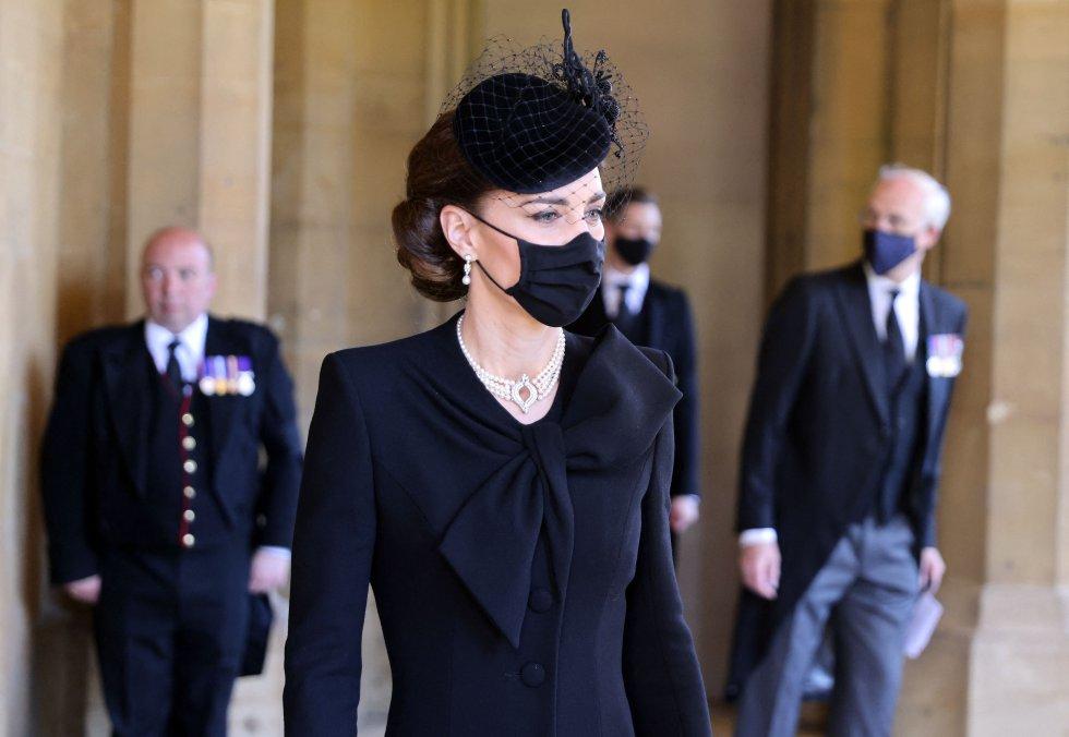 Con la ausencia de Meghan Markle, todos los focos se centraban en la duquesa de Cambridge.
