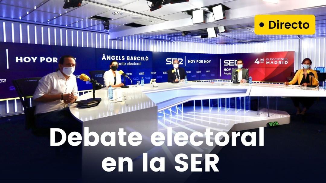 Iglesias abandona el debate del 4M en la SER al ver insuficiente la condena de Vox a las amenazas a políticos