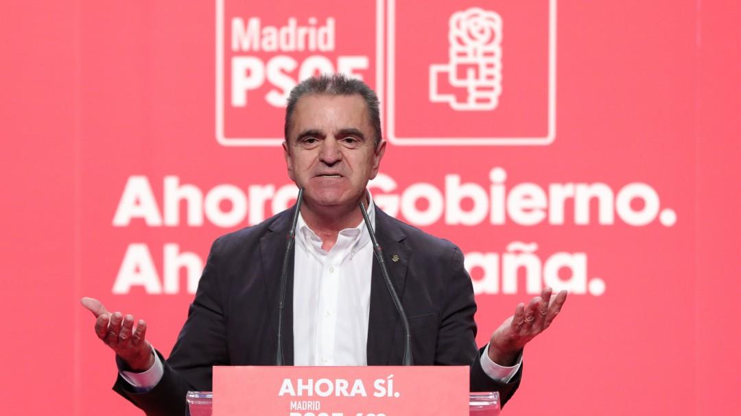 José Manuel Franco presenta su dimisión como secretario general del PSOE de Madrid