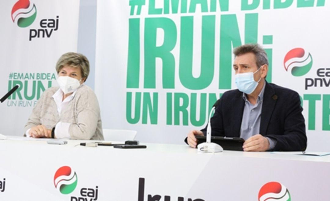 Xabier Iridoy y Lourdes Larraza