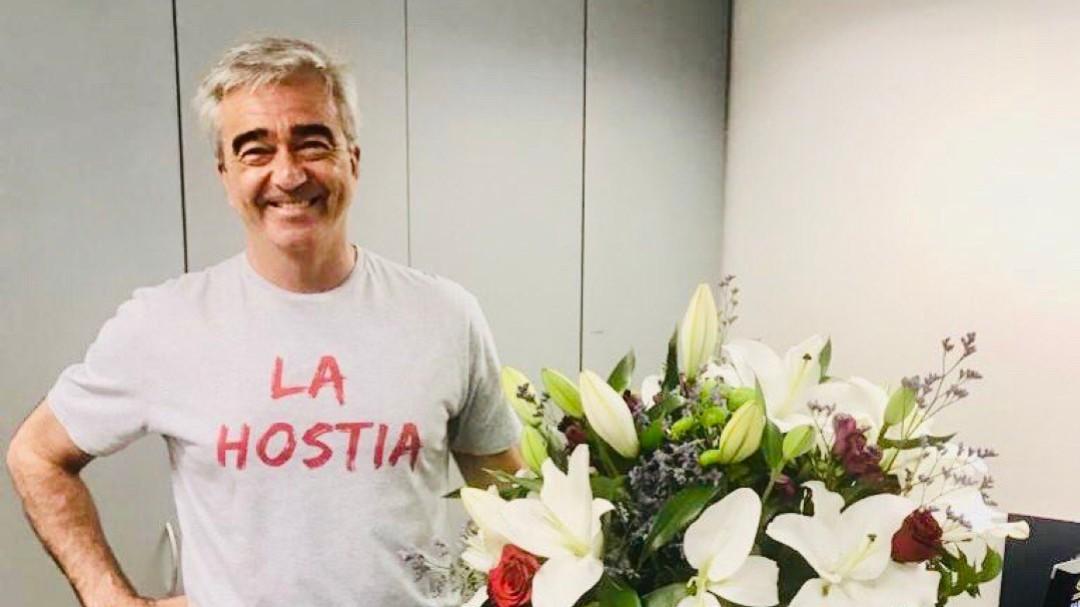 Carles Francino vuelve a 'La Ventana' tras superar el coronavirus: un relato entre lágrimas e indignación
