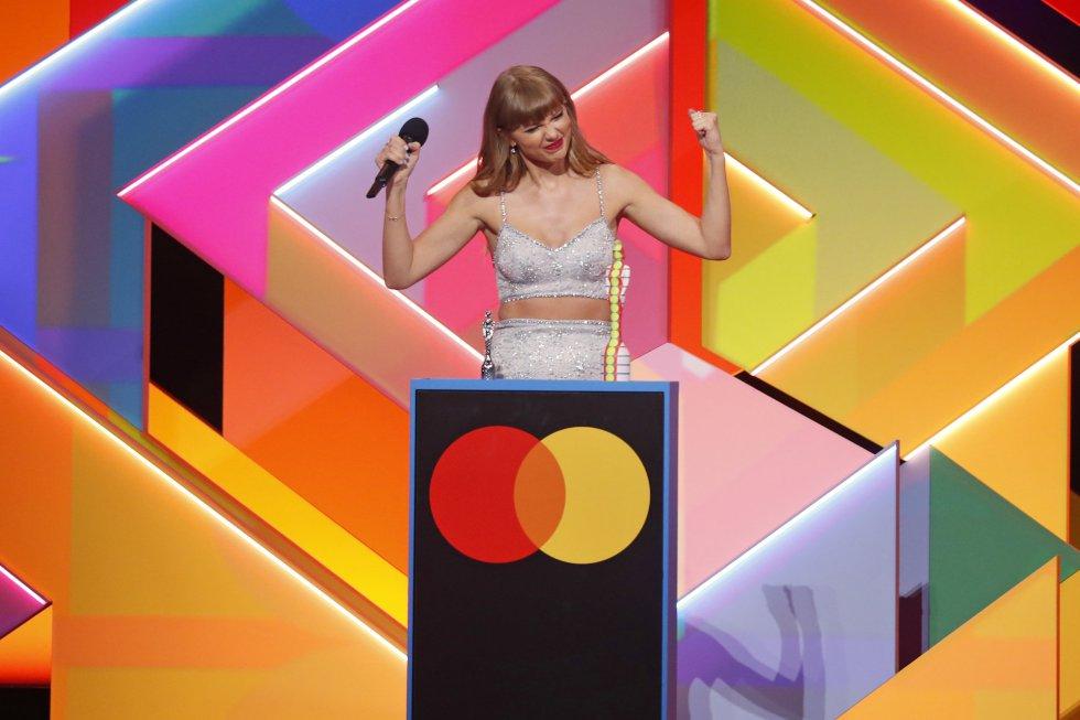 La fiesta de los premios Brit, en imágenes