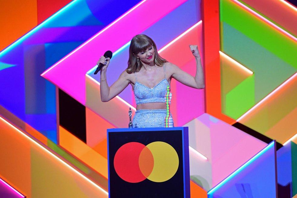 Taylor Swift, en el escenario.