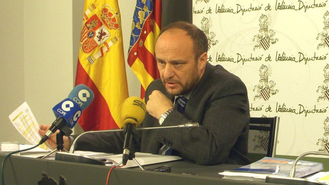Rafael Rubio ha sido cesado como subdelegado del Gobierno en Valencia tras ser detenido por la Guardia Civil