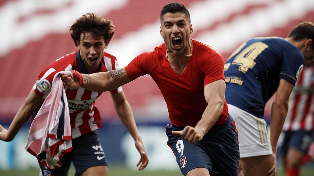 El Atlético remonta en un partido de infarto para llegar líder a la última jornada de Liga