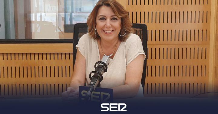 Susana Díaz asegura que lleva dos años recibiendo 'empujones' de su partido