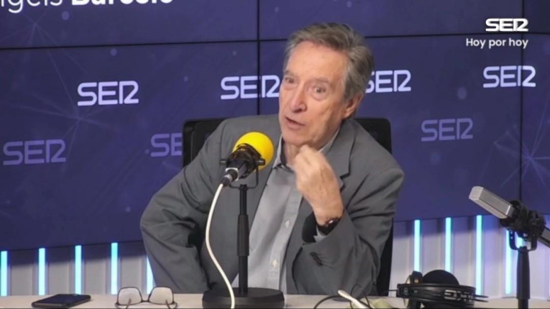 """Iñaki Gabilondo invita a Díaz Ayuso a leerse la Constitución: """"Está siendo un poco analfabeta institucional"""""""