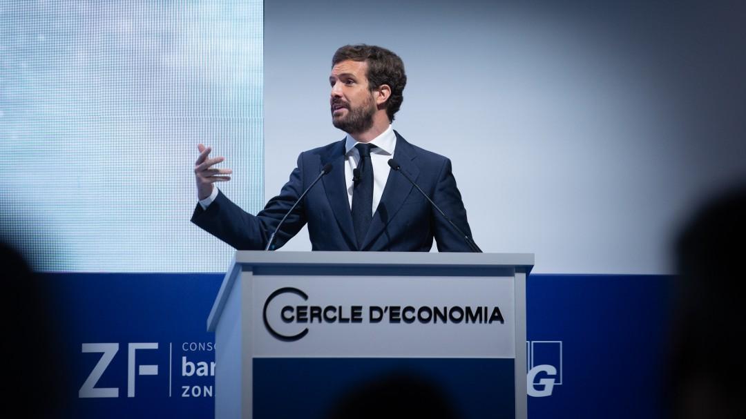 """Casado acusa a Sánchez de poner fin a las mascarillas para obtener """"rédito electoral"""" por los indultos"""