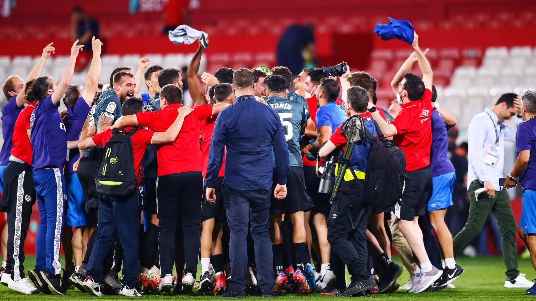 Álvaro García y Trejo devuelven al Rayo Vallecano a Primera División dos años después
