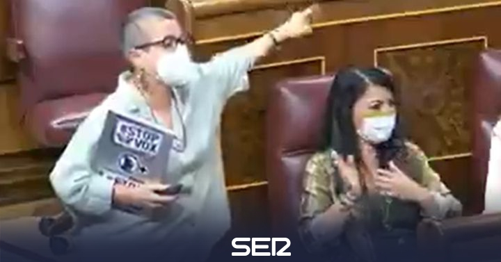"Una diputada de ERC explota tras las provocaciones de Macarena Olona: ""¡Fascista!"""