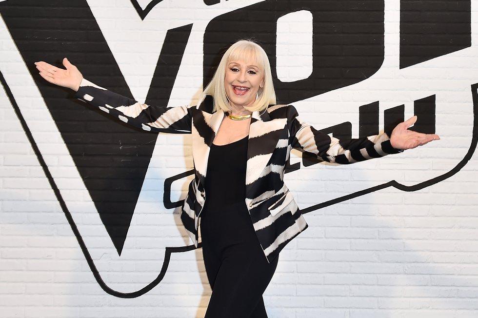 Raffaella en 'The Voice Of Italy' en 2016.