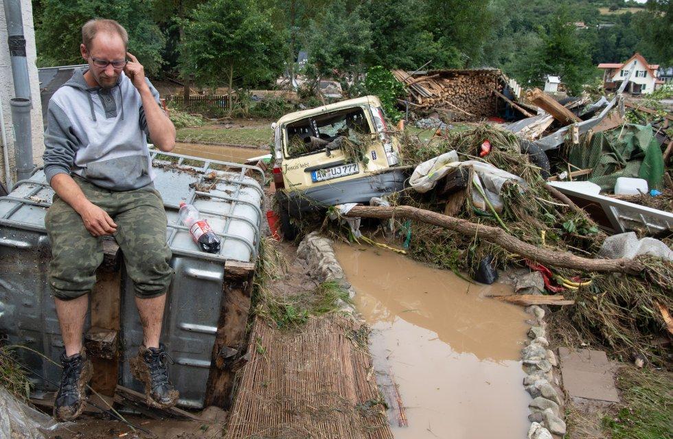 Las inundaciones en Alemania.