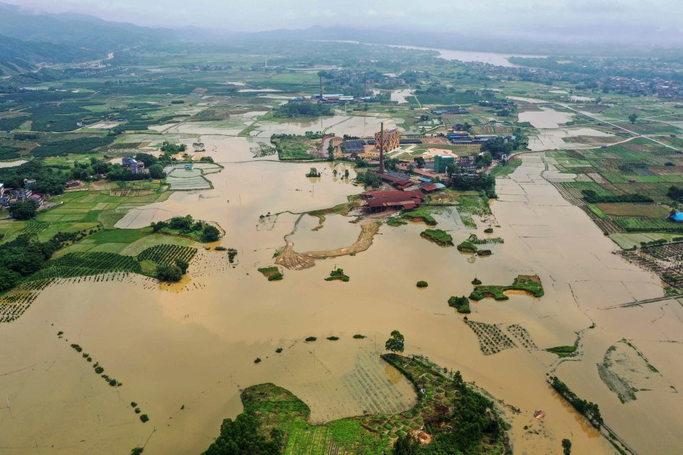 Inundaciones catastróficas en China por las peores lluvias en mil años