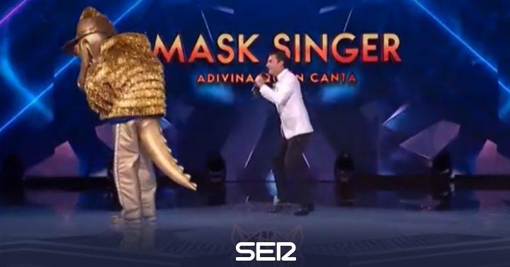 Mask Singer desvela las identidades de Cocodrilo y Paella: dos cantantes totalmente fuera de registro