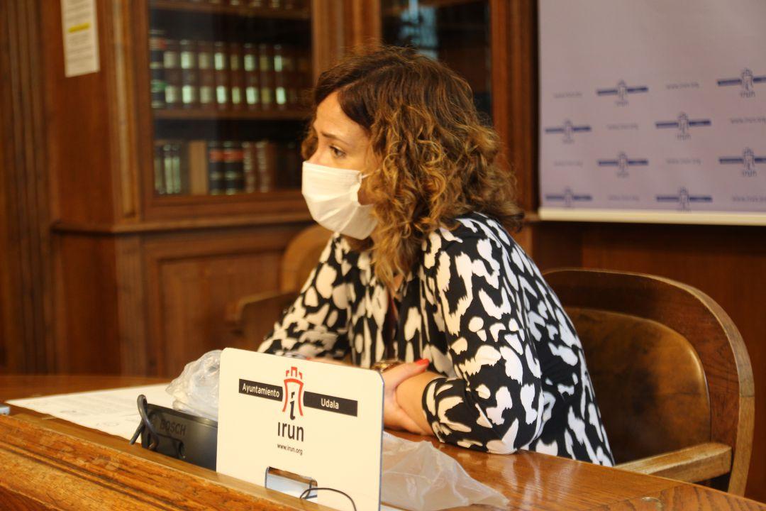 La delegada de Recursos Humanos, Cristina Laborda