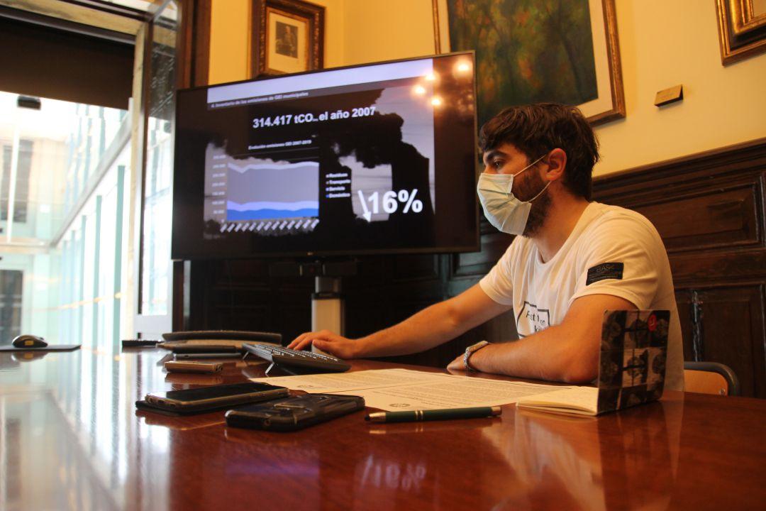El delegado de Desarrollo Sostenible, Borja Olazabal