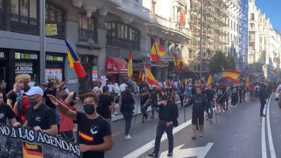 El Gobierno llevará a la Fiscalía la manifestación neonazi celebrada en Chueca