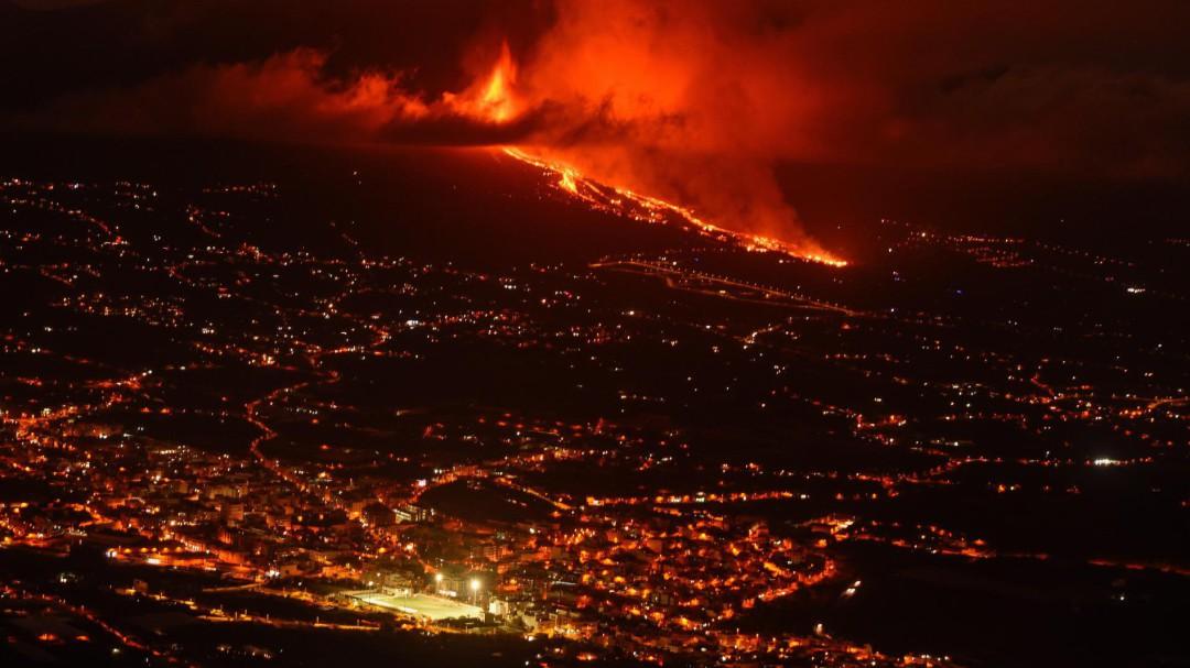 Calculan que la lava ha arrasado entre 200 y 300 casas en La Palma